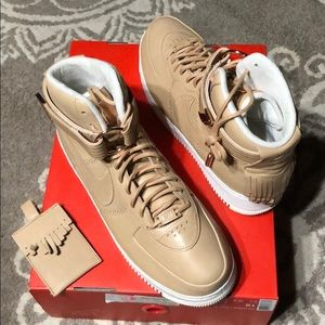 New in box Nike AF 1 Vachetta Leather High Tops